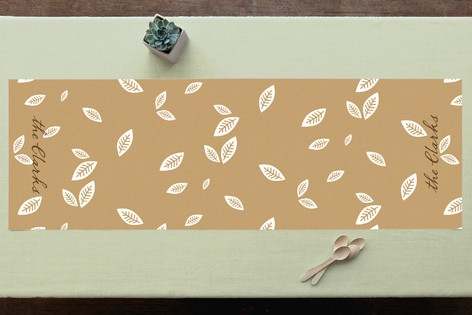 Rustic Harvest Personalizable Table Runner