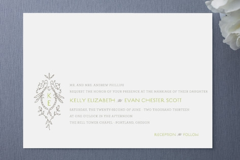 Secret Garden Wedding Invitations by Design Lotus