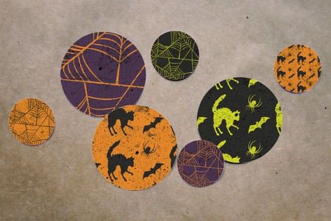 Spirited Halloween Table Confetti by Heather Franc...