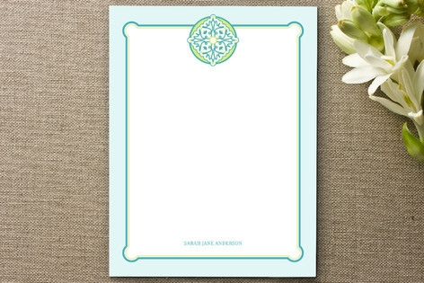 spring in sevilla Personalized Stationery by RedRe...