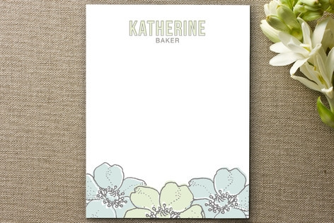 Spruce Personalized Stationery by Palm Papers