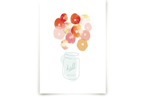 Summer Pickled Poppies Art Prints