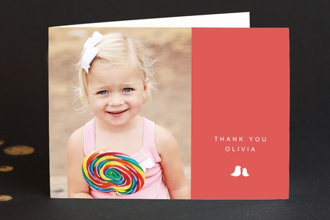 Sweet and Simple Adult Thank You Greeting Cards...