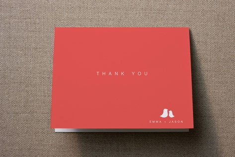 Sweet and Simple Thank You Cards by guess what?