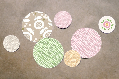 Sweet Clementine Table Confetti by Carolyn MacLare...