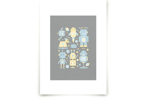 The Robot Collective Art Prints