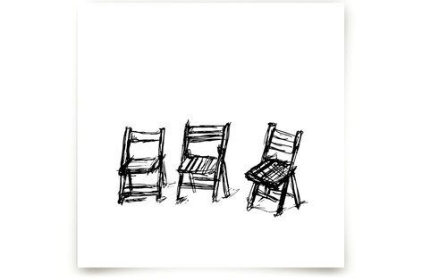 Three Chairs Art Prints
