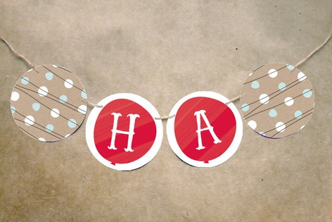 Up Up and Away Balloon Bunting Banners by kelli ha...