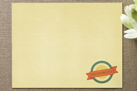 Vintage Ad Business Stationery Cards