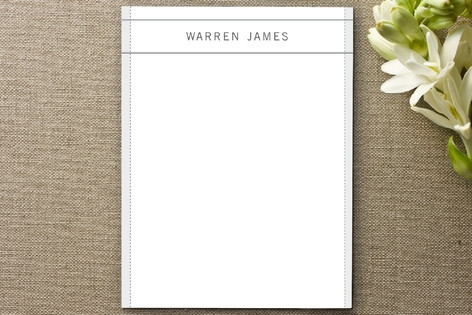 warren Personalized Stationery by Andrea Snaza