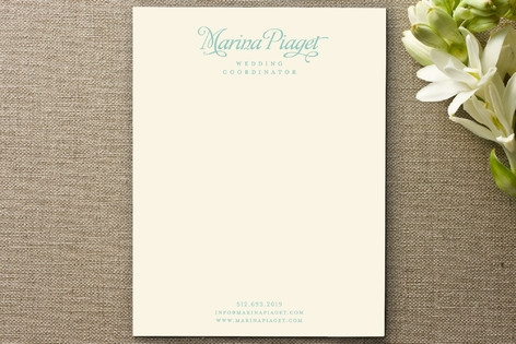 Wedding Coordinator Business Stationery Cards