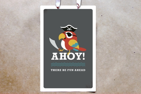 Yo Ho Ho! Party Greeting Signs