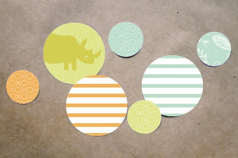 Zoo Menagerie Table Confetti by Moglea
