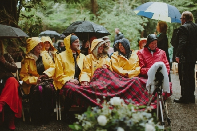 An Intimate Woodland Ceremony and Glamorous Jazz-age Reception in British Columbia, Canada