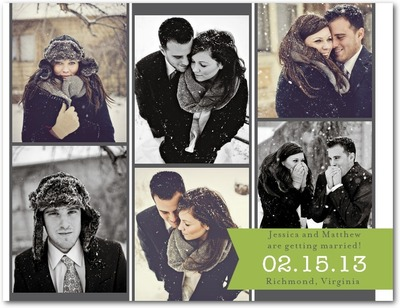 Remember Romance Save The Date Postcards Meadow