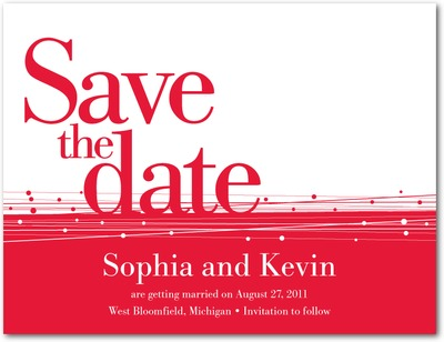 Timely Text Save The Date Postcards Passion