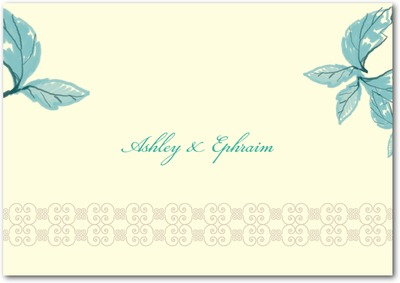 Enchanting Story Signature Ecru Thank You Cards Bay