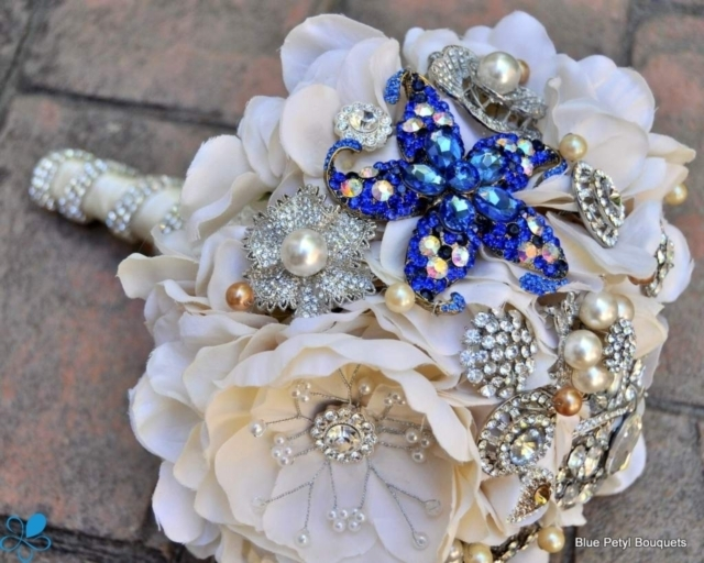 """Something Blue"" Bouquet"