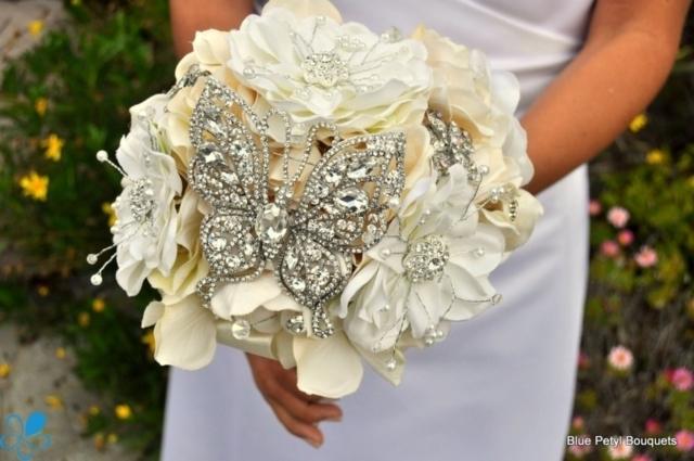 Crystal Butterfly Bouquet