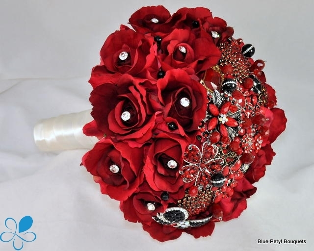 Red Sienna Rose Bouquet HM09