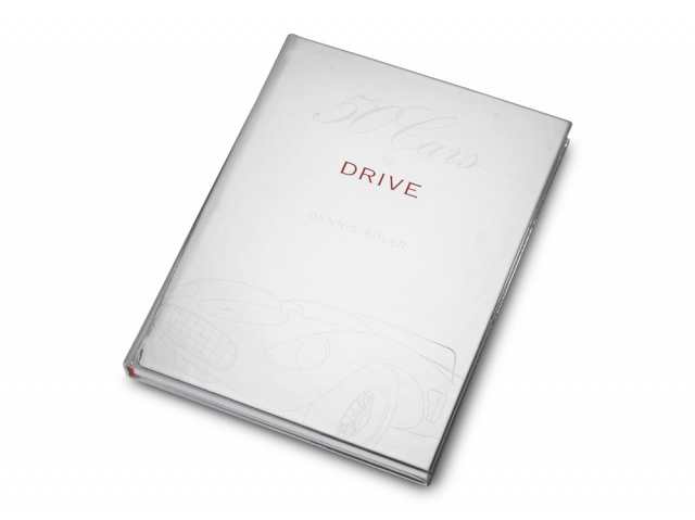 50 Cars To Drive Leather Bound Book