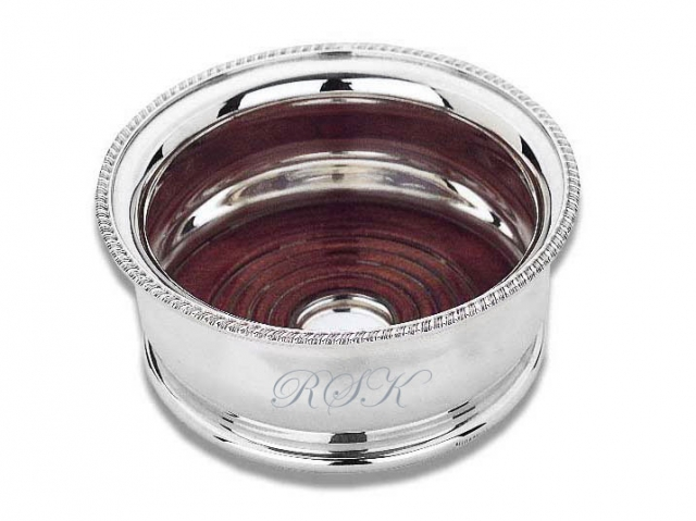 Groomstars Engraved Deep Bellied Wine Coaster
