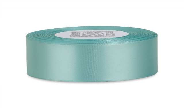 "MIDORI Bridal ""Bold & Bright"" Collection - Double Faced Satin - Aquamarine"