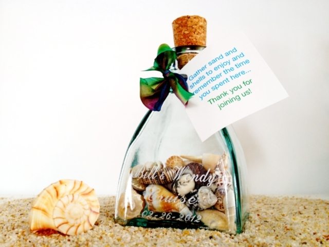 Half-Round Keepsake Bottle