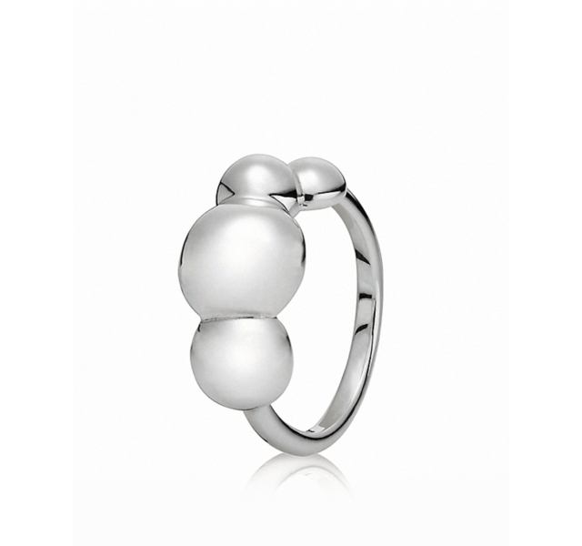 PANDORA Ring - Sterling Silver Quad Bubbles