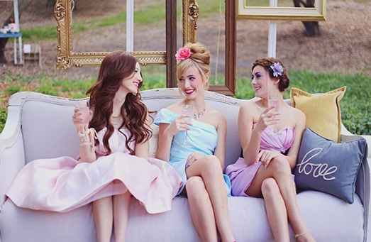 Springtime Soiree For Your Besties, wedding planning bridezilla, how to not be a bridezilla