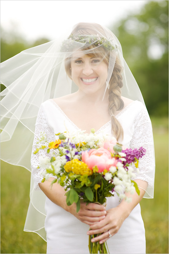 veil wedding hairstyles