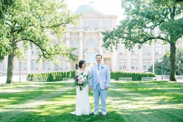 Allison and Alistairs New York Botanical Gardens Wedding