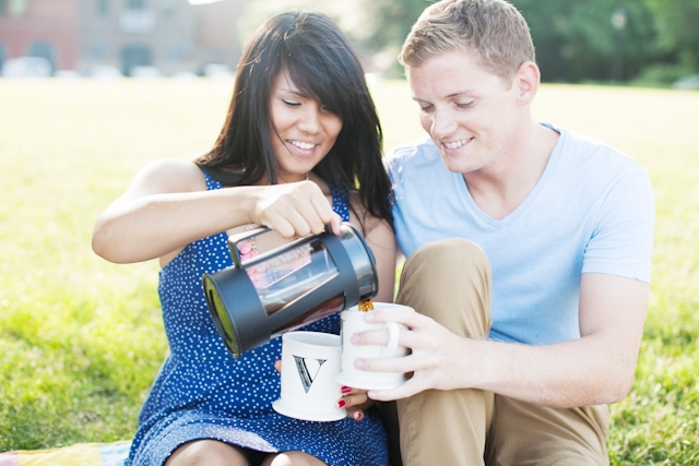 Morning Coffee Engagement | strid